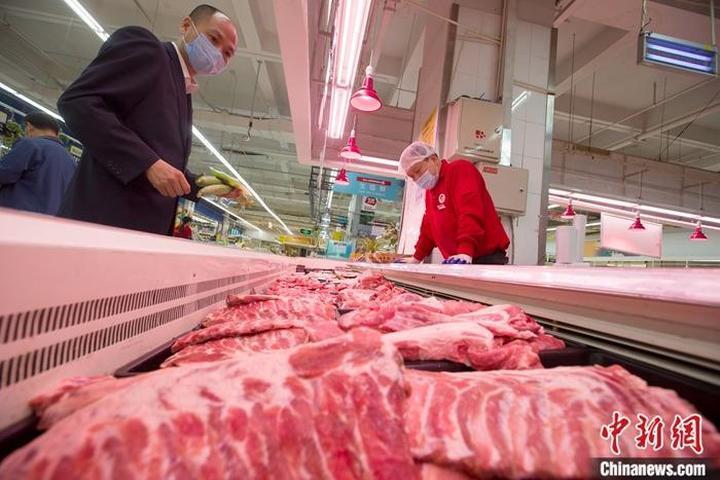 商务部:上周肉类价格小幅下降 猪肉批发价下降0.2%