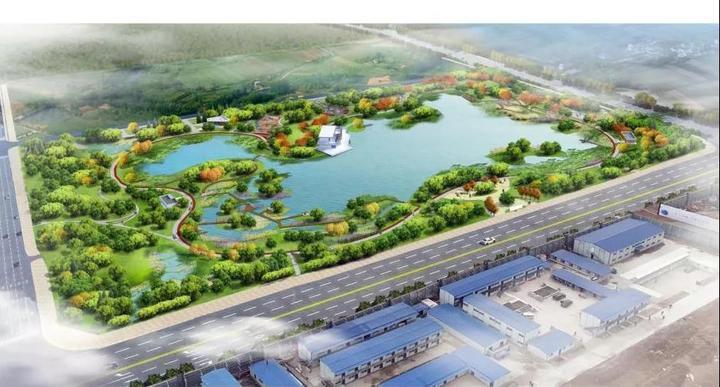 卡伦湖旁兴隆片区15万平湿地公园规划震撼现世