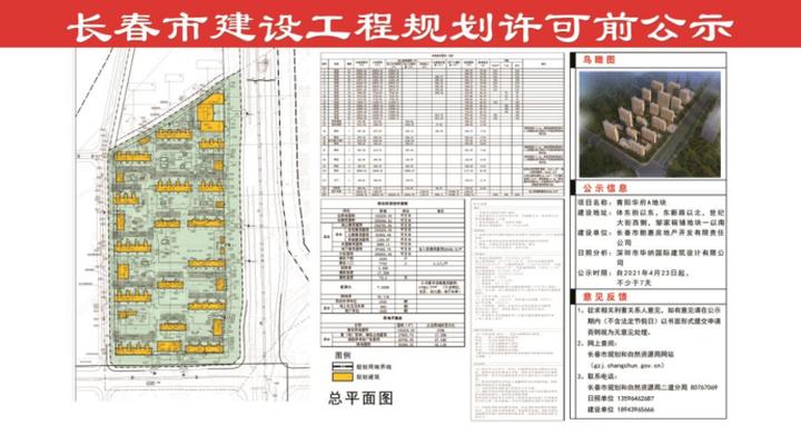 二道青阳华府项目规划公示