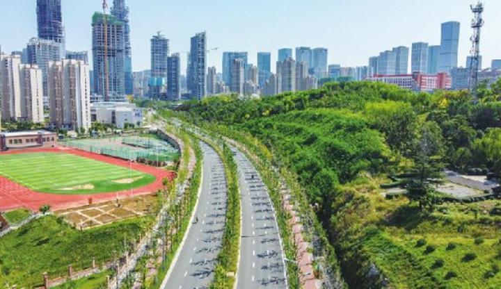 济南中央商务区25条市政道路逐步开通