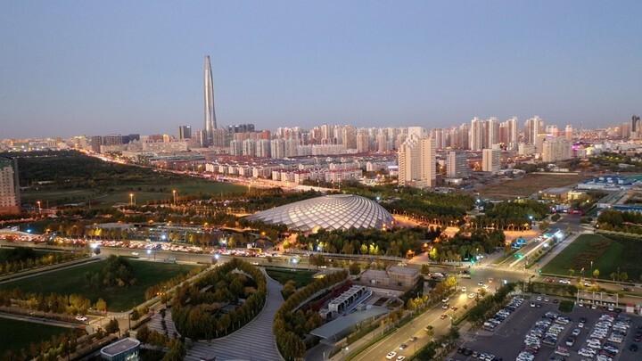 """城市建设日新月异 经开区全力建设美丽""""滨城核心区"""""""
