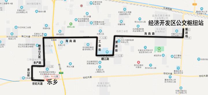 石家庄将新开2条公交线路!塔北路接驳地铁三号线道路完工