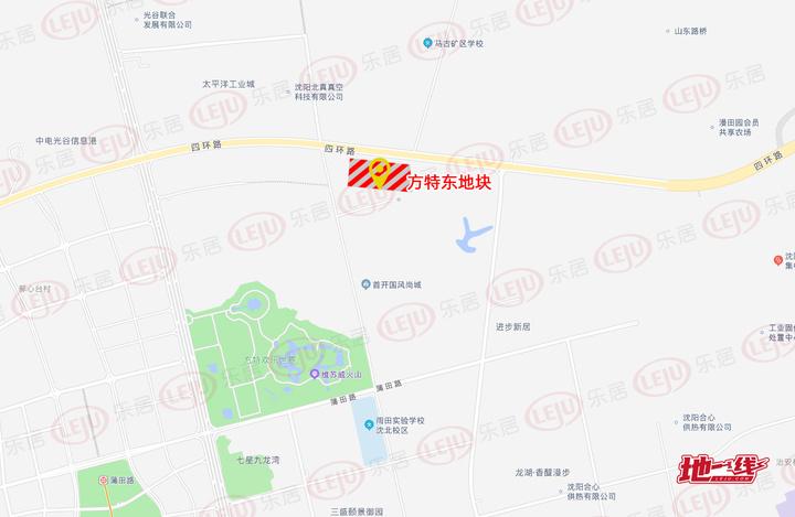 土拍快讯|楼面价2390元/㎡!汇置2.93亿夺沈北新区方特东地块