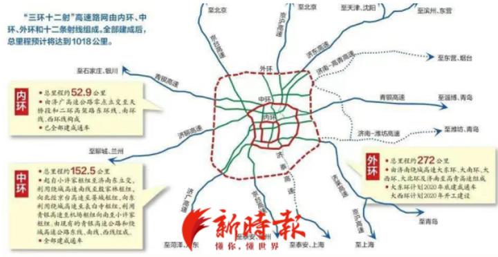 济南大北环项目初步设计获批,计划今年6月底开工建设