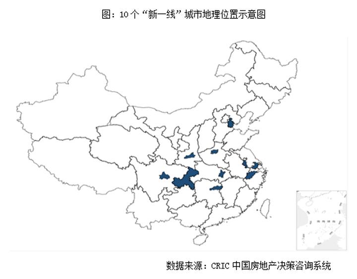 """十大""""新一线""""城市房地产市场发展阶段及前景研究"""