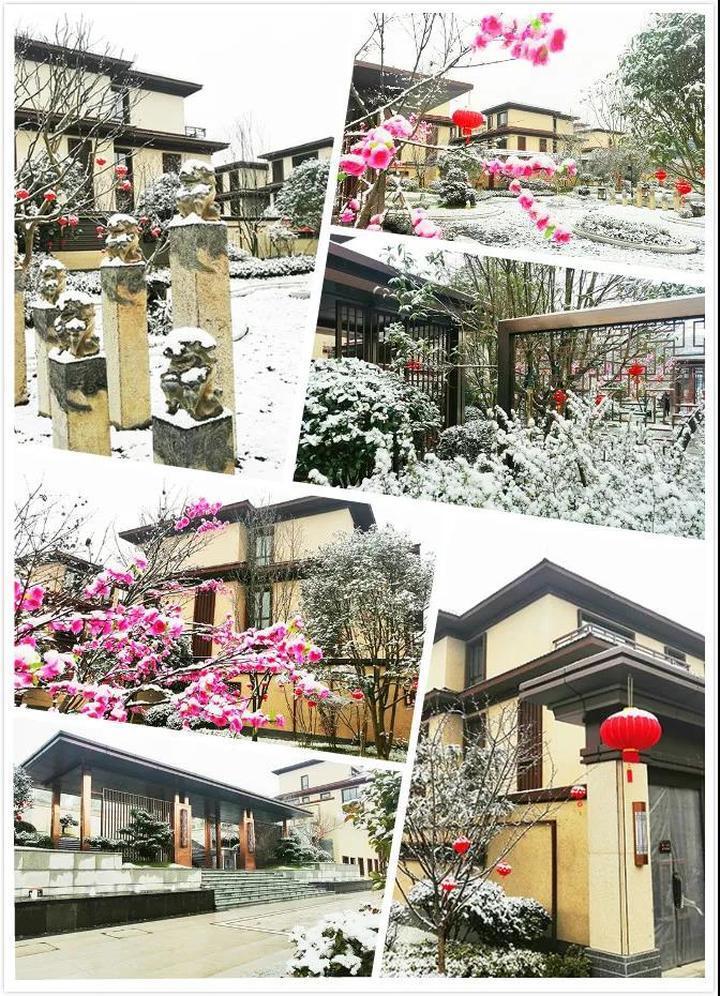 2021年的第一场雪!