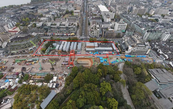 吴山广场地下空间,将迎来阿里系商业?