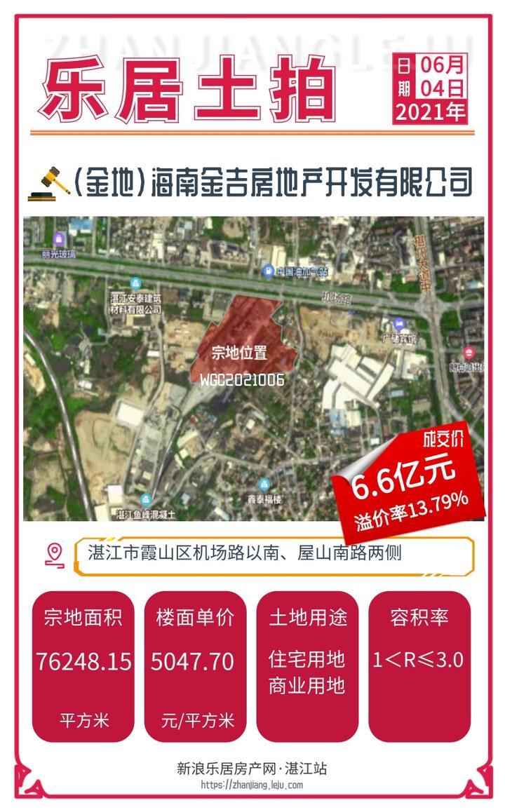 中海再造地王!楼面价达6395元㎡!今日5宗地块狂揽12.9亿!