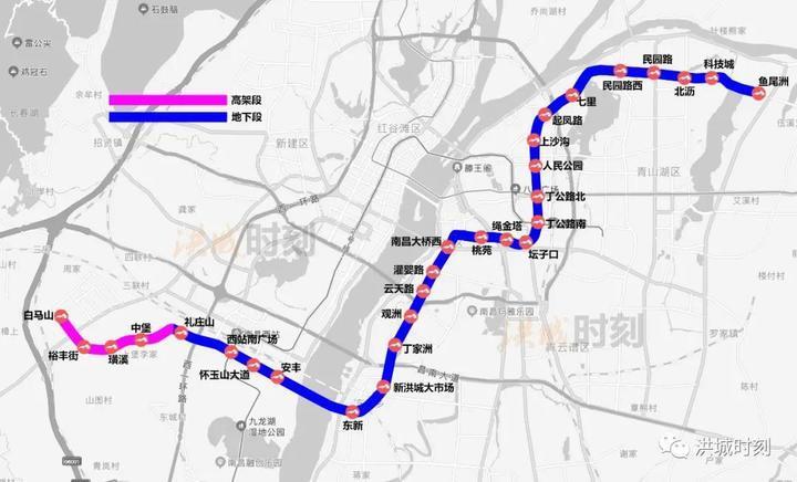 南昌地铁4号线全线洞通了!年底通车试运营!