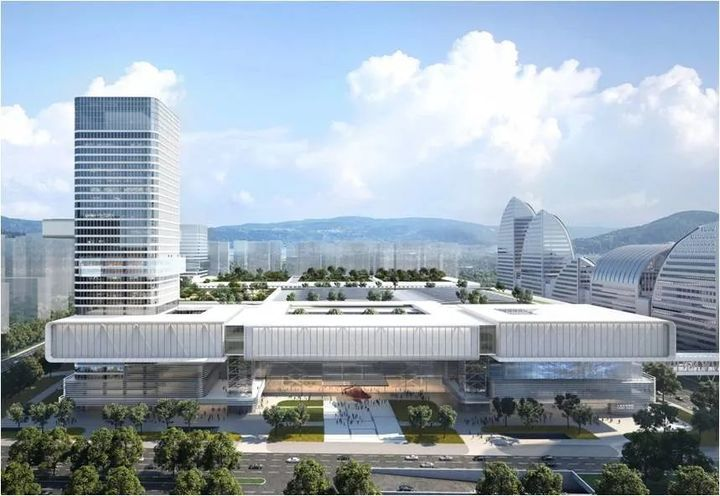 41.24亿!杭州国际博览中心二期这样建!