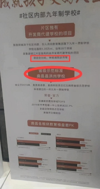 """小区配套名校?业主:没有校只有""""套""""新旅明樾湾被指虚假宣传"""