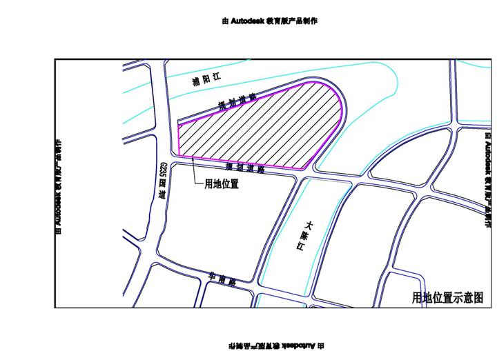 4952元/㎡起拍,诸暨浦阳江南岸约14.5万方宅地7.1日出让