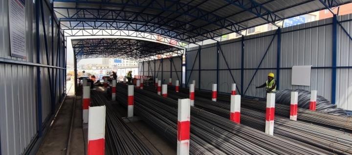 长春轨道交通7号线目前已有15座车站进入主体施工阶段