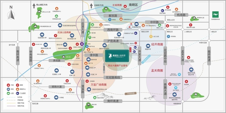 贵阳雅居乐花园亮相!一期规划总建面9.58万方,659户