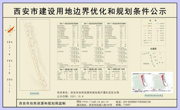 浐灞5宗204.879亩地用地规划条件公示 包括1宗37.93亩二类居住用地