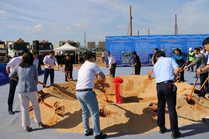 昆明国家高新区2021年第一批重点项目集中开工仪式圆满举办!