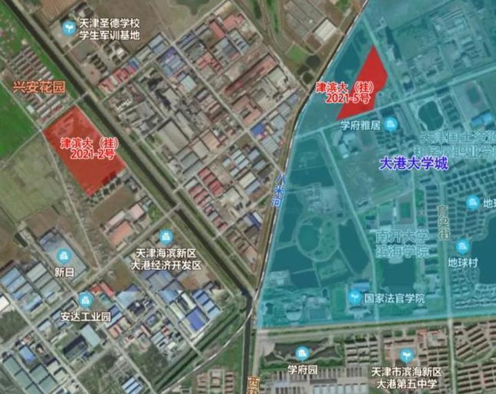 """天津滨海于家堡&响螺湾等7板块14宗""""两集中""""地块亮相 补货91.7万"""
