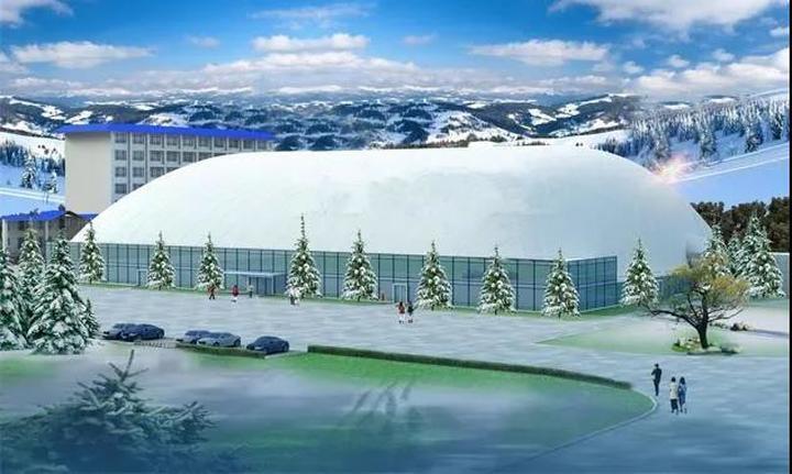 """期待吗?呼和浩特拟建设""""冰雪奇缘""""四季乐园,共5个气膜场馆和1"""