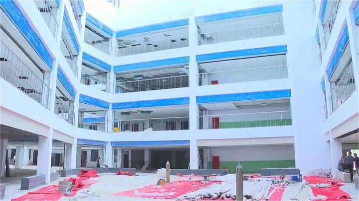 鹿泉这所异地新建小学正在全力推进中,秋季开学投入使用!