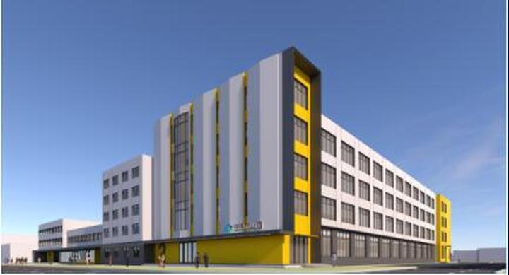经开区海慧谷城市更新项目开工 首期预计8月投用