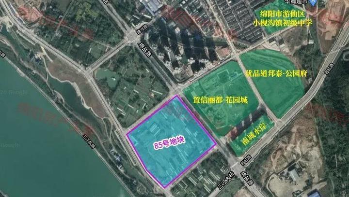 游仙146亩成功二次转让,155.37亩待拍,科技、生态大城呼之欲出!