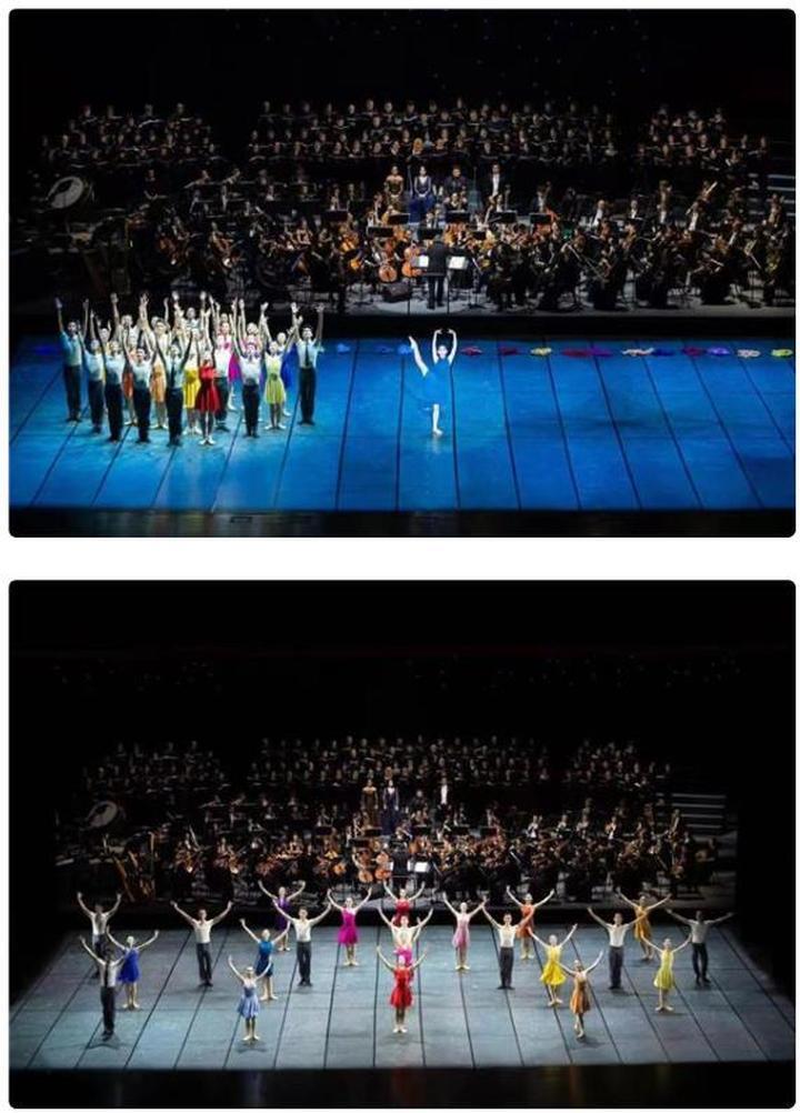 五大艺术团体艺术家同台献艺 交响芭蕾晚会盛装启幕