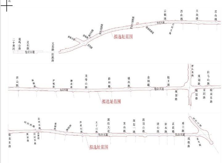 长约15.5公里,包公大道快速路规划出炉