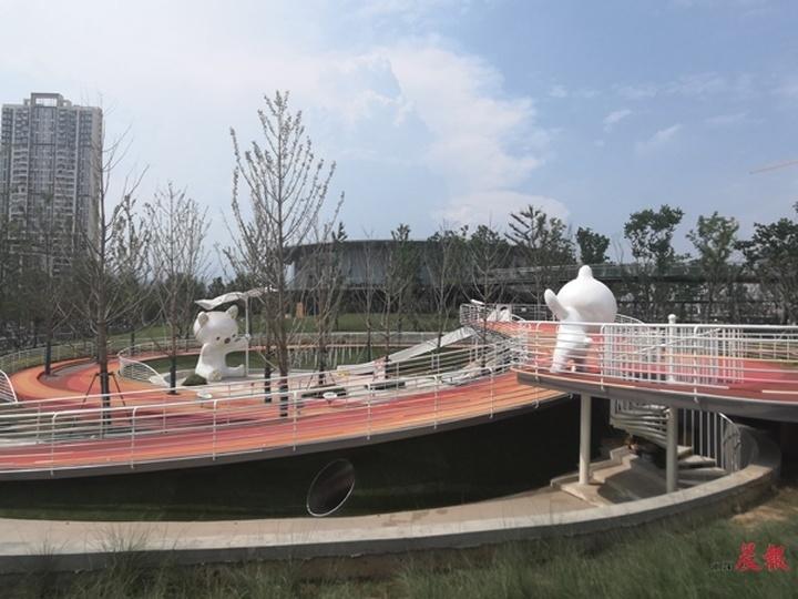 市民再添休闲好去处 南昌经开区文体公园8月将开放