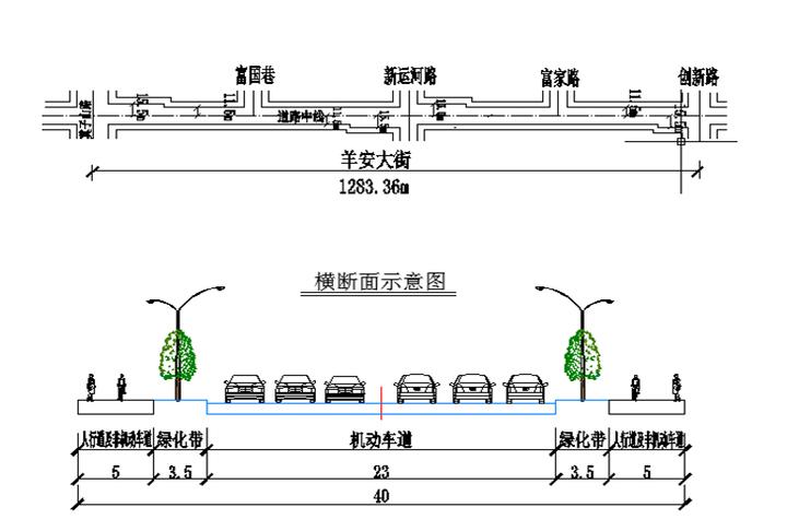 浑南将修一条长1283.36米道路 羊安大街道路工程规划公示中