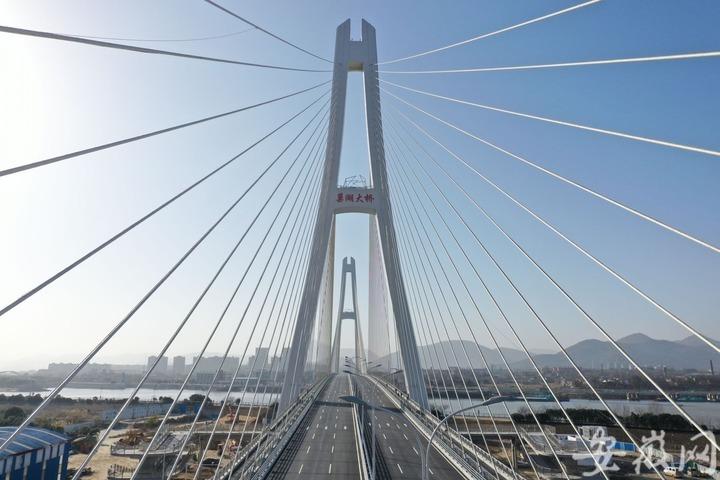 巢湖大桥顺利通过初验,1月12日上午通车