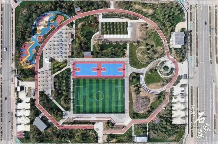 石家庄这座公园全新亮相!打造一座运动功能显著的综合性公园
