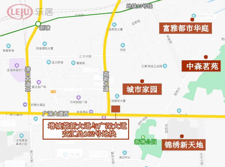 土拍快讯|广州86.6亿卖2宗地!广州地铁36255元/㎡夺海珠宅地