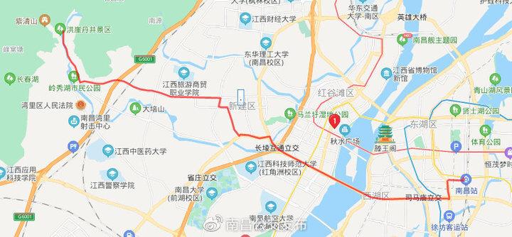 2月24日起南昌多条公交调整!因站前西路部分路段改单行
