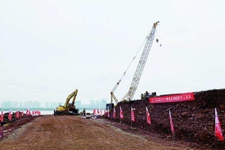 九龙湖过江大桥正式开工 主线全长约4.7公里