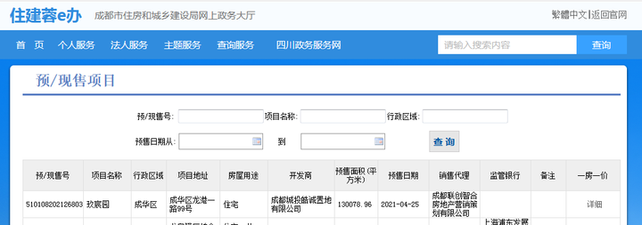 龙潭寺人才公寓取得预售:1008套 清水均价19825元/㎡