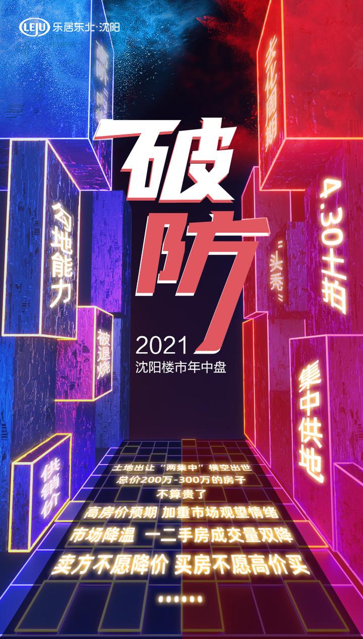 """""""破防""""  2021沈阳楼市年中盘"""