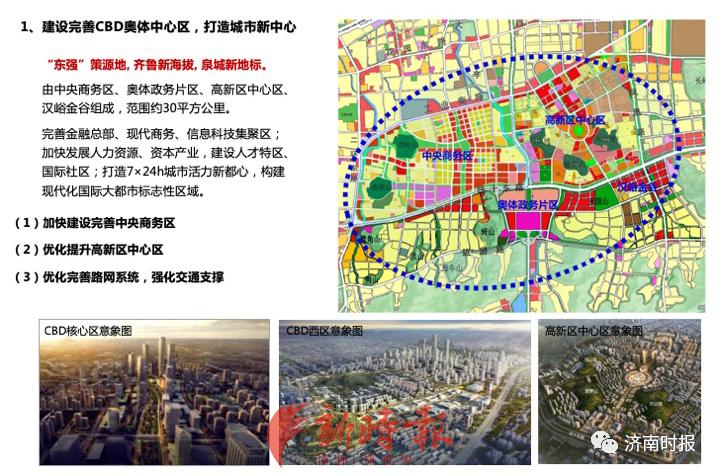 """重磅!济南""""东强""""方案出炉,明确这些片区和项目重点打造"""
