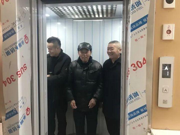 江干城市化第一批安置多层住宅,顺利启用16台电梯!
