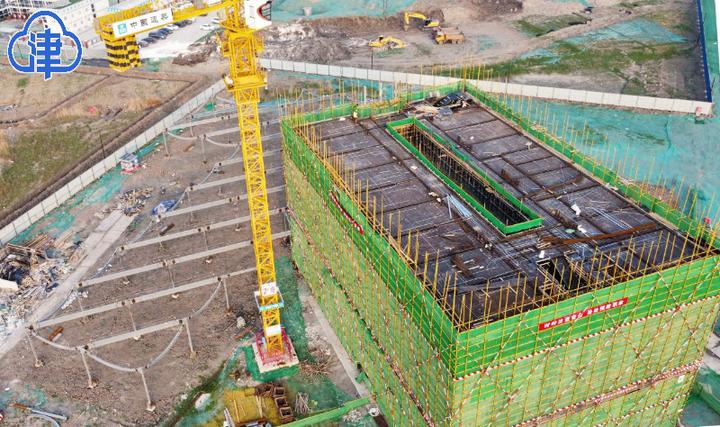 中国民航大学新校区加紧施工 预计2022年5月竣工