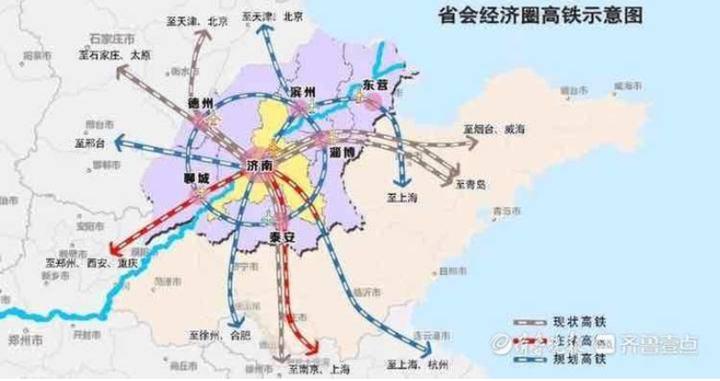 建设轨道上的省会经济圈!圈内市市通高铁,跨黄通道将达44座