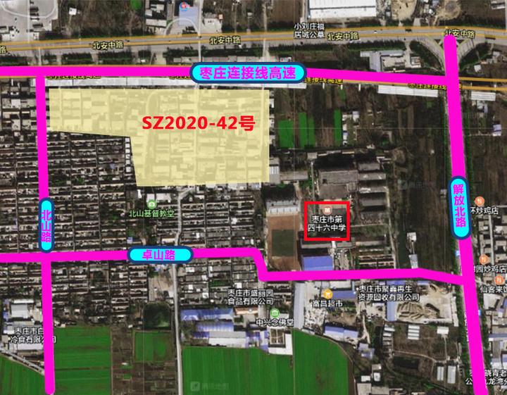 6月土拍快讯|枣庄市第四十六中西北侧地块再度流拍!