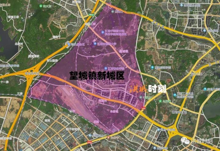 征收土地4663.81亩!望城镇新城区启动开发!