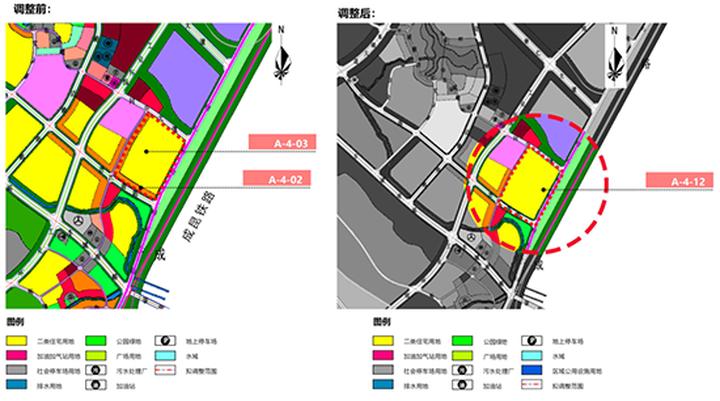 甘眉工业园区两地块拟局部调整合并为180亩住宅用地!