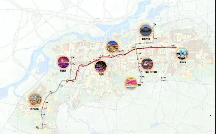 济南地铁成网运营满月:日均换乘客流约5.5万人 12个站点日均客流