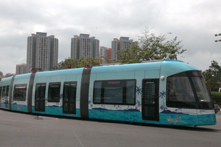 国内首个县级有轨电车示范项目 文山州有轨电车项