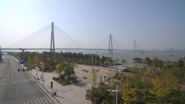 汉江最宽桥汉江湾桥5月1日通车