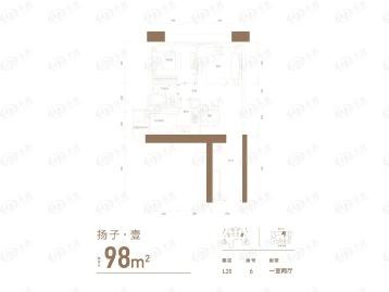 重庆来福士住宅户型图