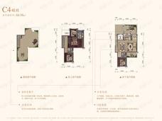 保利堂悦4室2厅3卫户型图