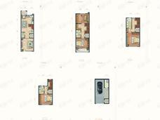 金隅上城郡4室2厅4卫户型图