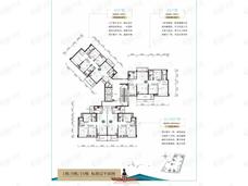 江湾·湖光印4室2厅2卫户型图